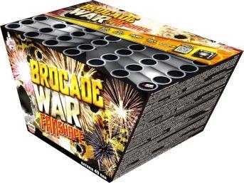 BROCADE WAR FAN