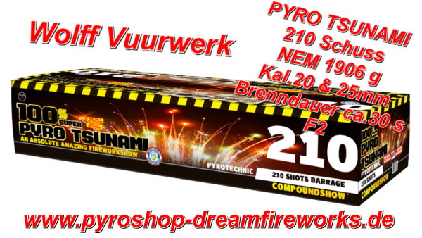 PYRO TSUNAMI Top Angebot 20 Euro gespart