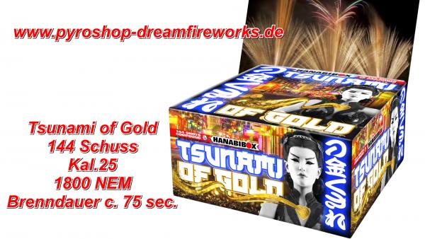 TSUNAMI OF GOLD