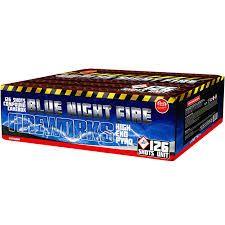 BLUE NIGHT FIRE Neu