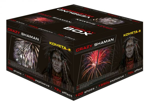 CRAZY SHAMAN C7229 Extreme 100 Schuss Batterie