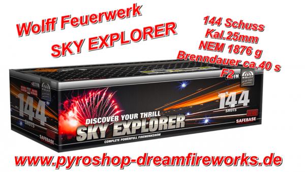 SKY EXPLORER Neu Top Angebot 14 Euro gespart