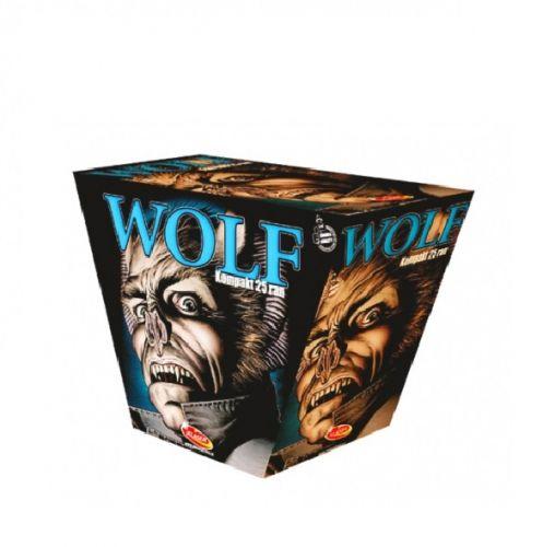 Wolf 25 Schuss - XXL Fan-Fächer-Feuerwerksbatterie