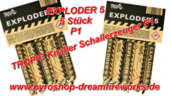 TP 5 EXPLODER 5 LAUTESTER P1 KNALLER SOFORT Lieferbar.