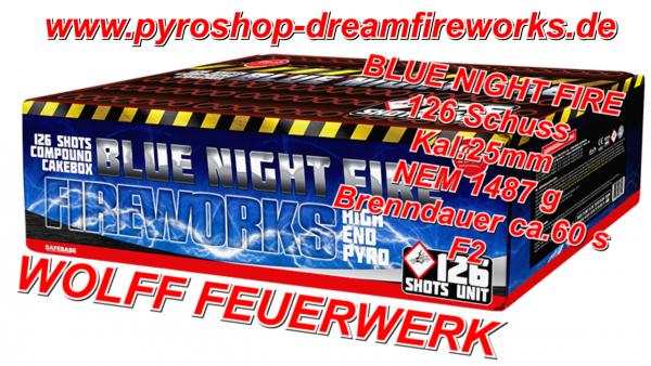 BLUE NIGHT FIRE Neu Hammer Verbund mit SALUT FINALE